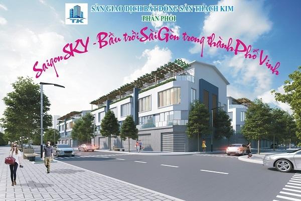 Đất và nhà liền kề dự án SÀI GÒN - SKY